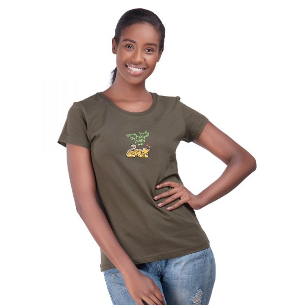 African T shirt - Oneway Kenya Ladies