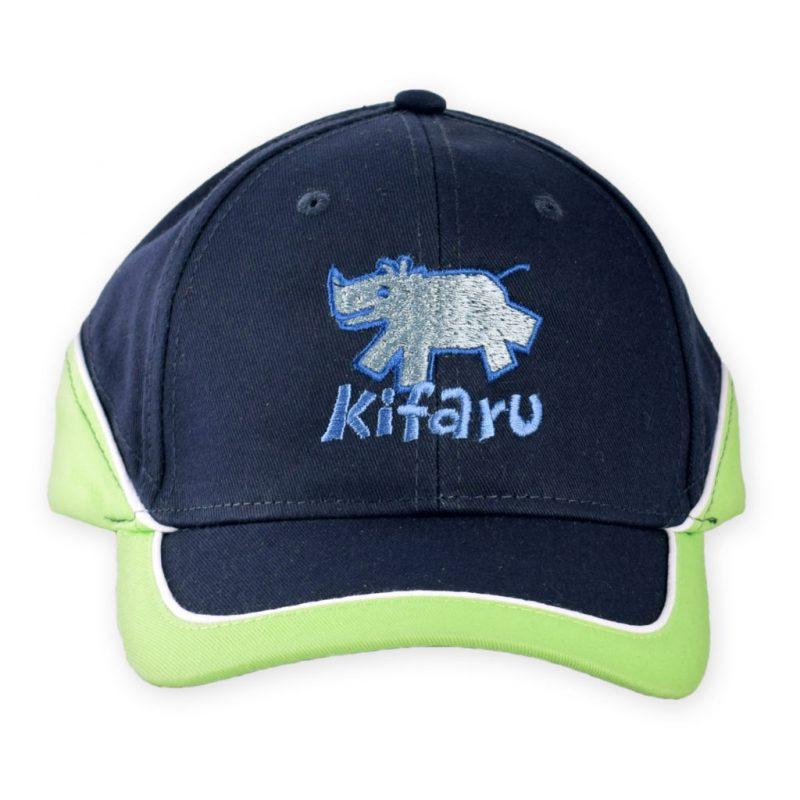Kids Cap Blue Front Kifaru