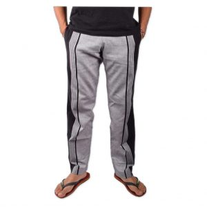 African Kikoy Trousers for Men - Grey
