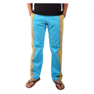 African Kikoy Trousers - Blue